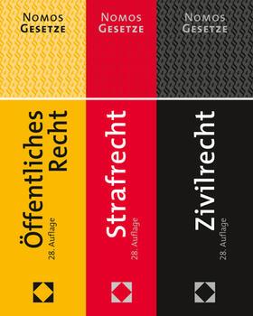 Zivilrecht  - Strafrecht - Öffentliches Recht, 3 Bände | Buch | sack.de
