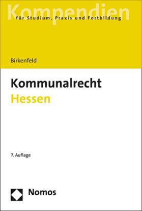Birkenfeld | Kommunalrecht Hessen | Buch | sack.de