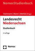 Hartmann / Mann / Mehde |  Landesrecht Niedersachsen | Buch |  Sack Fachmedien