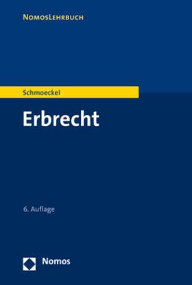 Schmoeckel | Erbrecht | Buch | sack.de