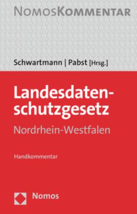 Schwartmann / Pabst | Landesdatenschutzgesetz Nordrhein-Westfalen | Buch | sack.de