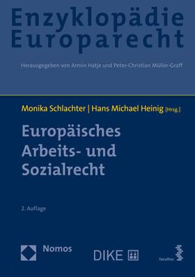 Schlachter / Heinig   Europäisches Arbeits- und Sozialrecht   Buch   sack.de