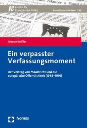 Müller | Ein verpasster Verfassungsmoment | Buch | sack.de