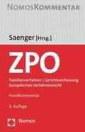 Saenger |  ZPO: Zivilprozessordnung  | Buch |  Sack Fachmedien