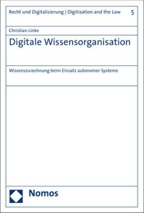 Linke   Digitale Wissensorganisation   Buch   sack.de