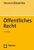 Öffentliches Recht | Buch |  Sack Fachmedien