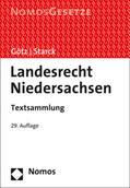 Götz / Starck |  Landesrecht Niedersachsen | Buch |  Sack Fachmedien