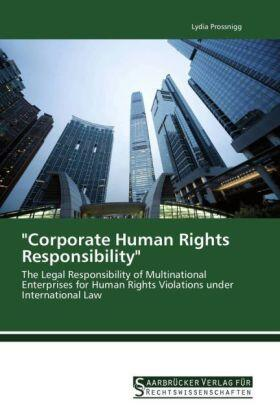 "Prossnigg | ""Corporate Human Rights Responsibility"" 