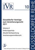Looschelders / Michael / Looschelders |  Düsseldorfer Vorträge zum Versicherungsrecht 2011 | eBook | Sack Fachmedien