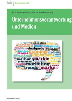 Vorbohle / Schank / Quandt   Unternehmensverantwortung und Medien   E-Book   sack.de