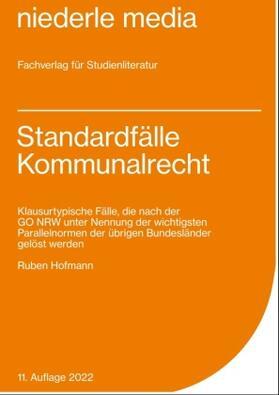 Hofmann | Standardfälle Kommunalrecht - 2021 | Buch | sack.de