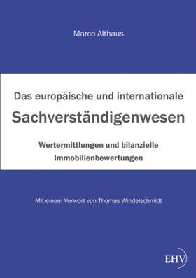 Althaus | Das internationale Sachverständigenwesen | Buch | sack.de