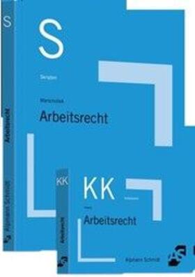 Skript Arbeitsrecht, m. Karteikarten Arbeitsrecht | Buch | sack.de