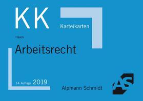 Haack   Karteikarten Arbeitsrecht   Buch   sack.de