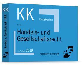 Haack | Handels- und Gesellschaftsrecht | Sonstiges | sack.de