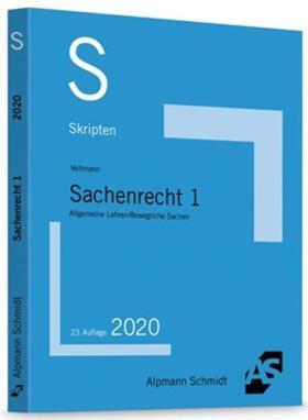 Veltmann | Skript Sachenrecht 1 | Buch | sack.de