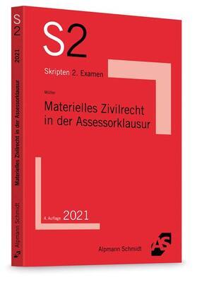 Müller   Materielles Zivilrecht in der Assessorklausur   Buch   sack.de