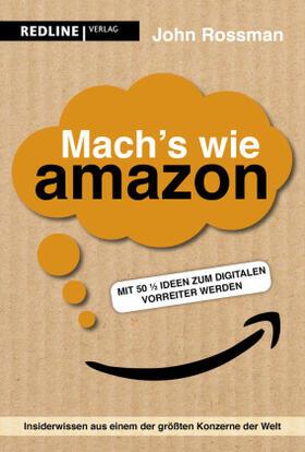 Rossman | Mach's wie Amazon! | Buch | sack.de