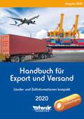Handbuch für Export und Versand, m. 1 Buch, m. 1 Online-Zugang