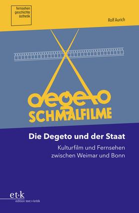 Aurich | Die Degeto und der Staat | Buch
