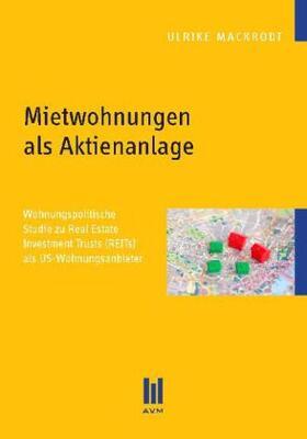 Mackrodt | Mietwohnungen als Aktienanlage | Buch | sack.de