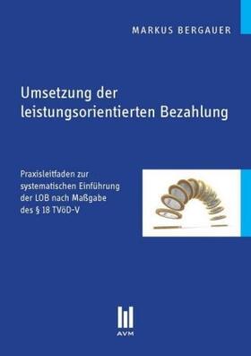 Bergauer   Umsetzung der leistungsorientierten Bezahlung   Buch   sack.de