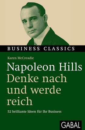 McCreadie | Napoleon Hills - Denke und werde reich | Buch | sack.de