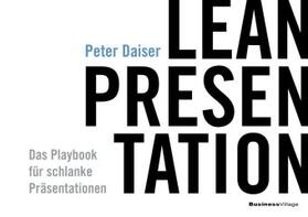 Peter | Lean Presentation | Buch | sack.de