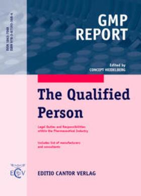 Burgess / Hosseiny / Janssen | The Qualified Person, English edition | Buch | sack.de