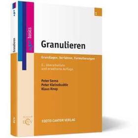 APV / Serno / Kleinebudde | Granulieren | Buch | sack.de