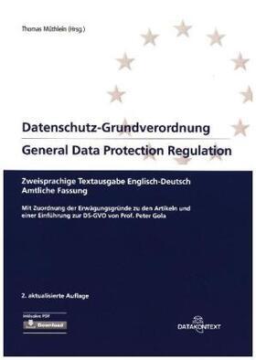 Datenschutz-Grundverordnung / General Data Protection Regulation | Buch | Sack Fachmedien