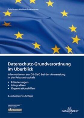 Datenschutz-Grundverordnung im Überblick | Buch | Sack Fachmedien