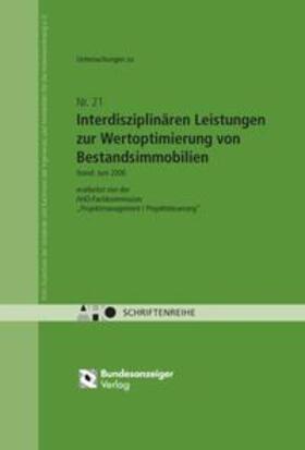 Interdisziplinäre Leistungen zur Wertoptimierung von Bestandsimmobilien | Buch | sack.de