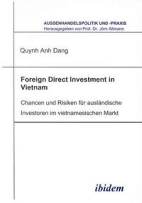 Dang   Foreign Direct Investment in Vietnam   Buch   sack.de