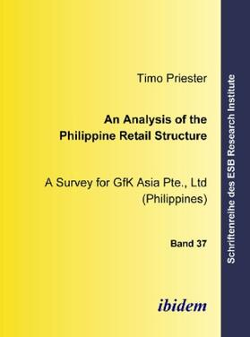 Priester | An Analysis of the Philippine Retail Structure | Buch | sack.de