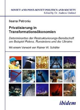Petroniu   Privatisierung in Transformationsökonomien   Buch   sack.de