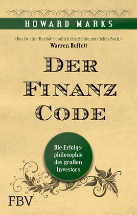 Marks | Der Finanz-Code | Buch | sack.de