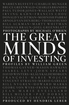 Green / Leber | The Great Minds of Investing | Buch | sack.de