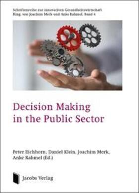 Eichhorn / Klein / Merk | Decision Making in the Public Sector | Buch | sack.de