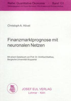 Hövel   Finanzmarktprognose mit neuronalen Netzen   Buch   sack.de
