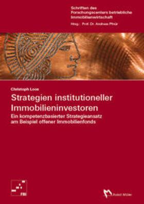 Christoph / Pfnür | Strategien institutioneller Immobilieninvestoren | Buch | sack.de