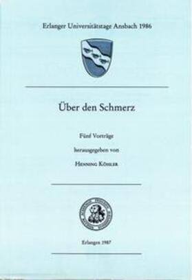 Kössler | Über den Schmerz | Buch | sack.de