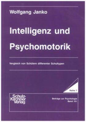 Janko   Intelligenz und Psychomotorik   Buch   sack.de