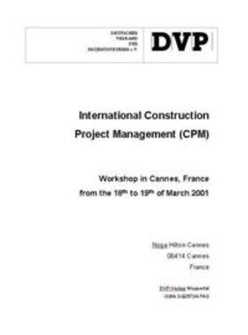 International Construction Project Management Forum (ICPMF)   Buch   sack.de