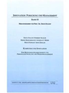 Staudt / Kailer / Kriegesmann   Kompetenz und Innovation   Buch   sack.de