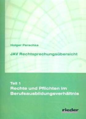 Perschke | Rechtsprechungsübersicht JAV | Buch | sack.de