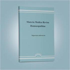 Nicklas / Gypser   Materia medica revisa homoeopathiae. Sammlung homöopathischer Arzneimittel...   Buch   sack.de