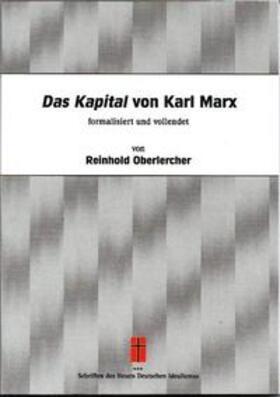 Oberlercher   Das Kapital von Karl Marx   Buch   sack.de