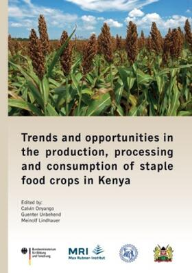 Trends and opportunities in the production, processing and consumption of staple food crops in Kenya | Buch | sack.de