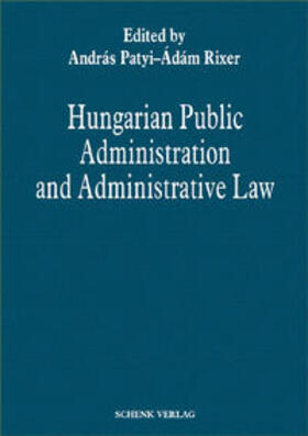 Hungarian Public Administration and Administrative Law | Buch | sack.de
